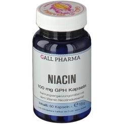 GALL PHARMA Niacin 100 mg GPH Kapseln