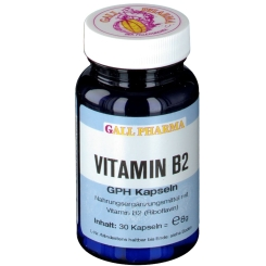 GALL PHARMA Vitamin B2 1,6 mg GPH Kapseln