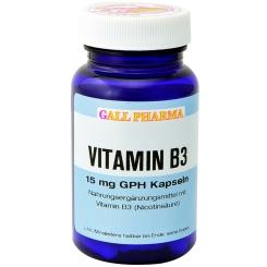 GALL PHARMA Vitamin B3 15 mg GPH Kapseln