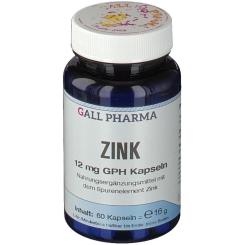 GALL PHARMA Zink 12 mg GPH Kapseln