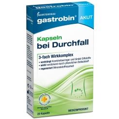 gastrobin® AKUT Kapseln bei Durchfall