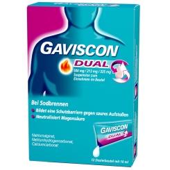 GAVISCON® Dual 500 mg / 213 mg / 325 mg