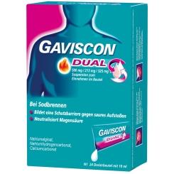 GAVISCON® Dual 500 mg / 213 mg / 325 mg Suspension
