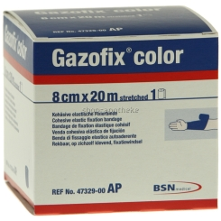 Gazofix® color Fixierbinde blau 20m x 8cm