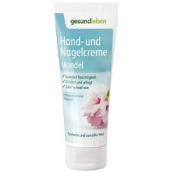 GEHE Gesund leben Hand- und Nagelcreme Mandel