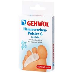 GEHWOL® PolymerGel Hammerzehen-Polster G rechts
