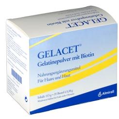 Gelacet Gelatinepulver mit Biotin