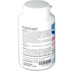 Gelatine + Calcium Kapseln
