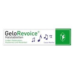 GeloRevoice® Halstabletten Cassis-Menthol