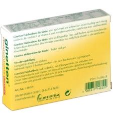 ginetten® Halsbonbons für Kinder zuckerfrei