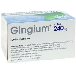 Gingium® extra 240 mg