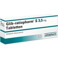 Glib ratiopharm S 3,5 Tabletten