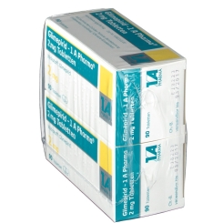 Glimepirid 1 A Pharma 2 mg Tabletten