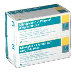 GLIMEPIRID 1A Pharma 4 mg