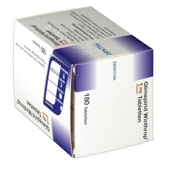 GLIMEPIRID Winthrop 1 mg
