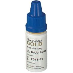 GlucoChek GOLD Kontrolllösung hoch