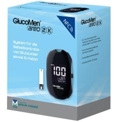 GlucoMen® areo 2K Blutzucker Set mg/dl