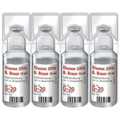 Glucose 20 % Braun Mini-Plasco® connect