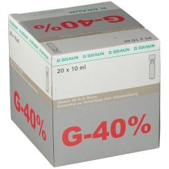 Glucose 40 % B. Braun Mini-Plasco®connect