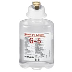 Glucose 5% B.Braun Injektionsflasche