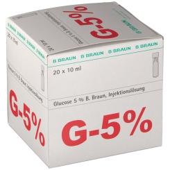 GLUCOSE 5% Braun Mini Plasco connect