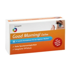 Good Morning! DailiesBC:8,60 DIA:14,20 SPH:+1,50