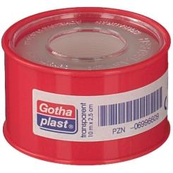 Gotha-FLEX Heftpflaster transparent 2,5 cm x 10 m