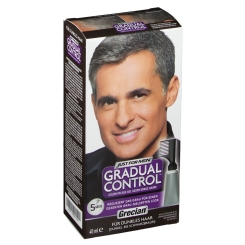 GRECIAN Gradual Control Color-Pflege-Gel dunkles Haar