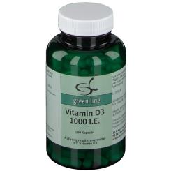 green line Vitamin D3 1.000 I.E.