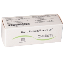 Gw10 Podophyllum cp JSO Globuli