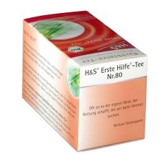 H&S Bio Bachblütentee Erste Hilfe Nr. 80