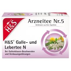H&S Galle- und Lebertee N Nr. 5