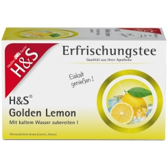 H&S Golden Lemon Erfrischungstee Nr. 77