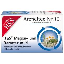 H&S Magen- und Darmtee mild Nr. 10