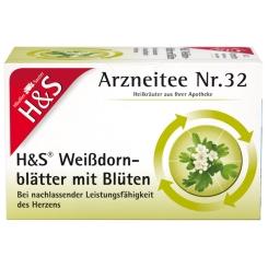 H&S Weissdornblätter mit Blüten Nr. 32