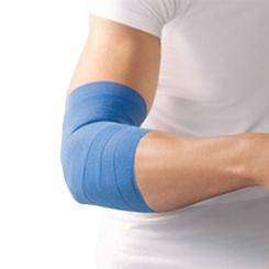 Haftelast® latexfrei Kohäsive Fixierbinde 8 cm x 20 m blau