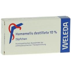 Hamamelis Destillata 10% Suppositorien