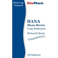 HANA Mono-Biotin 5 mg