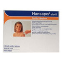 Hansapor sterile Wundverbände 8x10cm