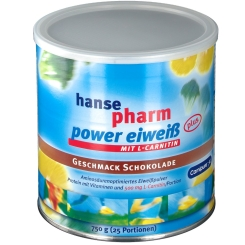 Hansepharm Power Eiweiß Plus Schoko-Geschmack + einen Power Crispy Riegel GRATIS