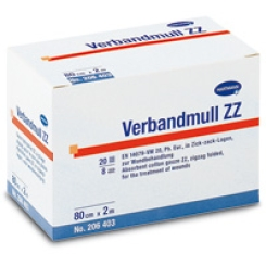 HARTMANN Verbandmull ZZ 10 cm x 5 m