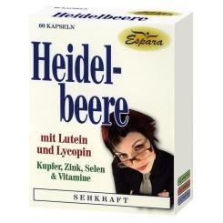 HEIDELBEERE KAPSELN