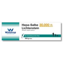 Hepa-Salbe 30.000 I. E. Lichtenstein®