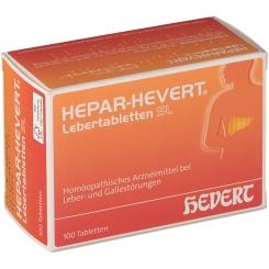 HEPAR-HEVERT® Lebertabletten SL
