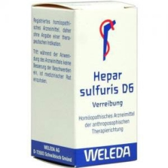 Hepar Sulfuris D6 Trituration