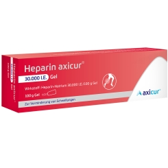 Heparin axicur® 30.000 I.E. Gel