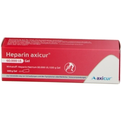 Heparin axicur® 60.000 I.E. Gel