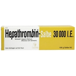 Hepathrombin-Salbe 30.000