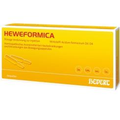 Heweformica Ampullen