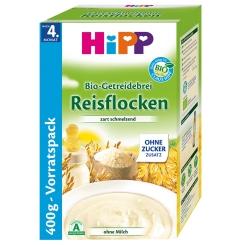 HIPP Bio Getreidebrei schmelz.Reisflocken glut.fr.